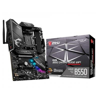 Placa-Mãe MSI MPG B550 Gaming Edge WiFi, AMD AM4, ATX