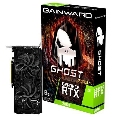 Placa de Vídeo Gainward NVIDIA GeForce RTX 2060 Ghost OC, 6GB, GDDR6 - NE62060S18J9-1160X