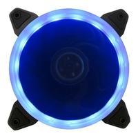 Cooler FAN Bluecase Ring, 120mm, LED Azul - BFR05BXCASE