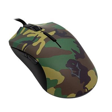 Mouse Gamer Husky Frost, Tactical Woodland, 8 Botões, 12000DPI - MO-HFR-TTC