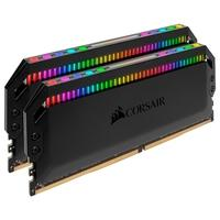 Memória Corsair Dominator Platinum RGB 64GB (2x32GB), 3200MHz, DDR4, C16 - CMT64GX4M2C3200C16