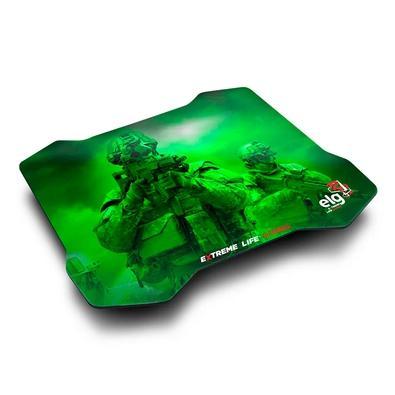 Mousepad Gamer ELG Sense, Control, Médio (300x230mm), Verde - MPSC