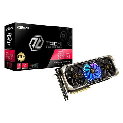 Placa de Vídeo ASRock AMD Radeon RX5700 XT Taichi X 8G OC+, 8GB, GDDR6 - RX5700XT TCX 8GP
