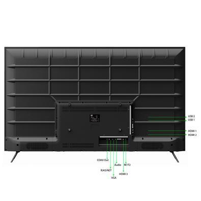 Smart TV LED 55´  UHD 4K HQ, Conversor Digital, 3 HDMI, 2 USB, Wi-Fi - HQSTV55NY