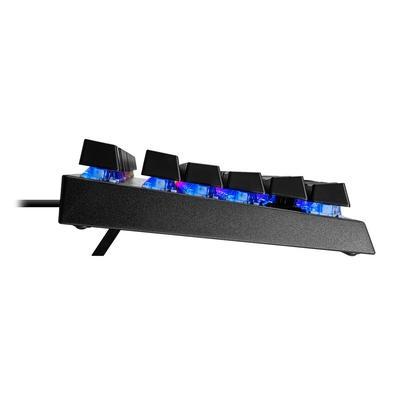 Teclado Mecânico Gamer Cooler Master CK350,  RGB, Switch Blue, ABNT2 - CK-350-KKOL1-BR