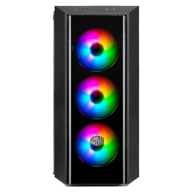 Gabinete Gamer Cooler Master MasterBox Pro 5 ARGB, Mid Tower, com FAN, Lateral em Vidro - MCY-B5P2-KWGN-03