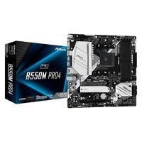 Placa-Mãe ASRock B550M Pro4, AMD AM4, Micro ATX, DDR4