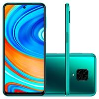 Smartphone Xiaomi Redmi Note 9 Pro, 128GB, 64MP, Tela 6.67', Verde Tropical Green + Capa Protetora - CX294VRD