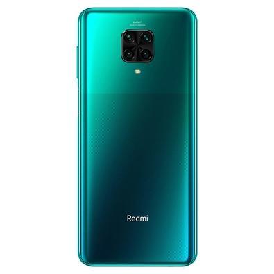Smartphone Xiaomi Redmi Note 9 Pro, 128GB, 64MP, Tela 6.67', Verde Tropical Green + Capa Protetora - CX294VRD