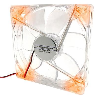 Cooler FAN Braview FLD-03, 120m, LED, Laranja - 41GABCOOLXX03