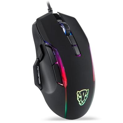 Mouse Gamer Motospeed V90, RGB, 8 Botões, 12000DPI, Preto - FMSMS0100PTO