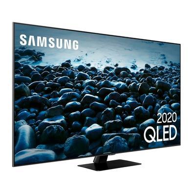 Smart TV QLED 55´ 4k Samsung 4 HDMI, 2 USB, Bluetooth, Wi-Fi, Modo Ambiente, HDR - QN55Q80TAGXZD