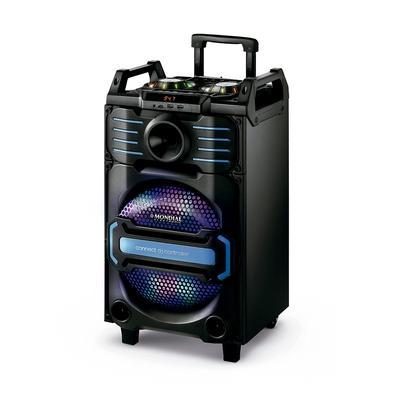 Caixa Amplificada Mondial Connect DJ Controller, Bluetooth, USB, 240W RMS - CM-09