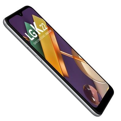 Smartphone LG K22, 32GB, 13MP, Tela 6.2´, Titânio - LM-K200BMW