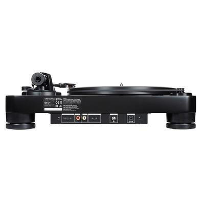 Toca Discos Audio-Technica Manual, Belt-drive, Cápsula, Preto - AT-LP7