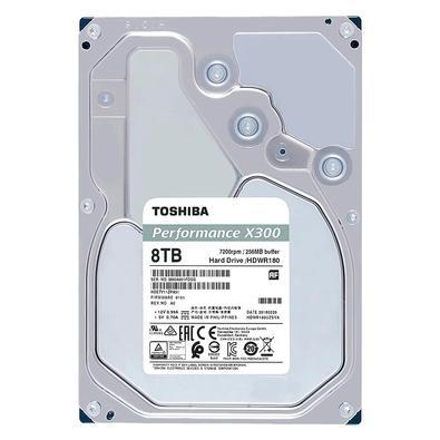 HD Toshiba Performance X300, 8TB, 3.5´, Sata - HDWR180XZSTA