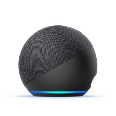 Echo Dot (4ª Geração) com Alexa, Amazon Smart Speaker Preto - B084DWCZY6