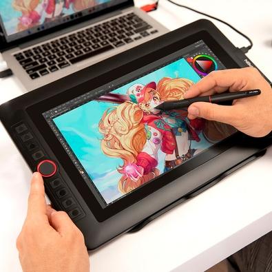 Mesa Digitalizador XP-Pen, Média, 5080 LPI, USB - JPARTIST 13.3 PRO