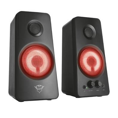 Caixa de som Trust GXT 608 Tytan, 2.0, P2/USB 18W RMS, LED - 21202