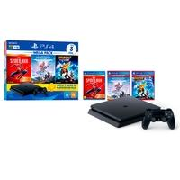 Console Sony PlayStation 4 Mega Pack 15, 1TB, Hori..