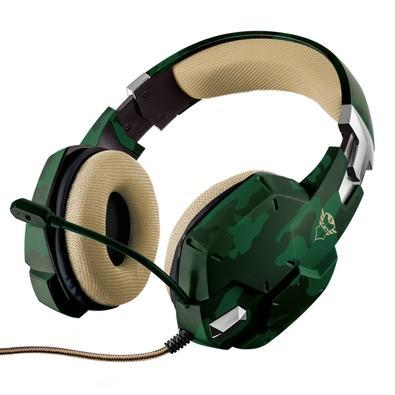 Headset Gamer Trust, GXT 322C Carus Jungle Camo - 20865
