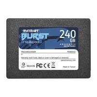 SSD Patriot Burst, 240GB, Sata III, 2.5, Leitura 555MBs e Gravação 500MBs - PBU240GS25SSDR