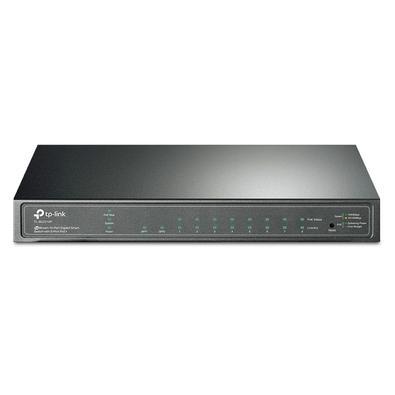 Switch TP-Link 10-Portas Gigabit Smart Switch com 8-Portas PoE+ - TL-SG2210P