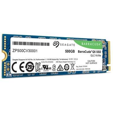 SSD Seagate Barracuda Q5, 500GB, M.2, PCIe G3 x4 - ZP500CV3A001