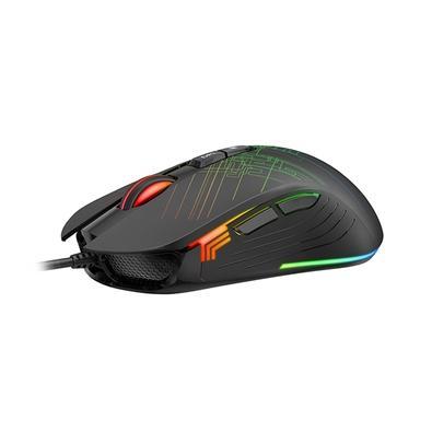Mouse Gamer Havit Professional Gaming RGB, 7 Botões, 6400DPI, Programável, Preto - MS1019