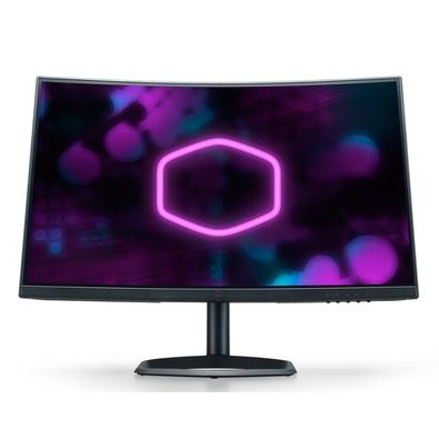 Monitor Gamer Cooler Master 27´ Full HD, Tela Curva,   165Hz, AMD FreeSync Premium - CMI-GM27-CF-BR