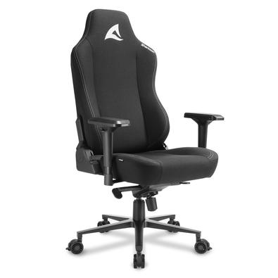 Cadeira Gamer Sharkoon SGS40 Fabric, 150kg, Braço 4D, Preto
