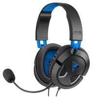 Headset Gamer Turtle Beach Recon 50P, Compatível com PS4 PS5 PC Xbox One e Mobile, Drivers 40mm - TB50P0001