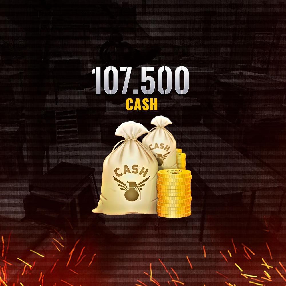 Gift Card Combat Arms - 107.500 CASH