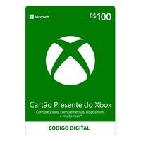 Gift Card Xbox: 100 Reais - Código Digital