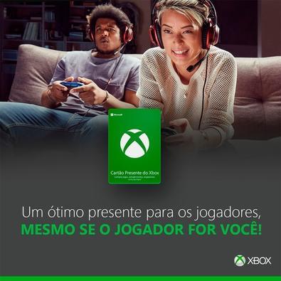 Gift Card Xbox: 60 Reais - Código Digital