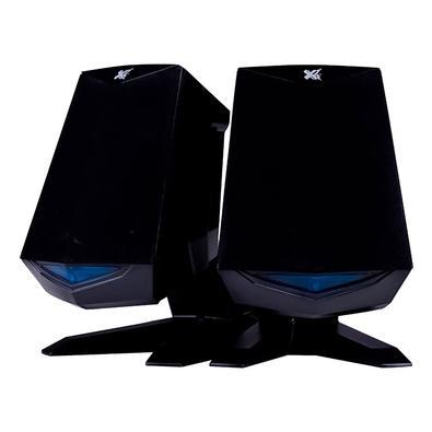 Caixa de Som Maxprint Black Samurai, USB 2.0, 6W - 60000029