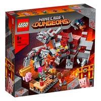 LEGO Minecraft - The Redstone Battle, 504 Peças - 21163