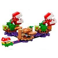 LEGO Super Mario - O Desafio das Plantas Piranhas, Pacote de Expansão, 267 Peças - 71382