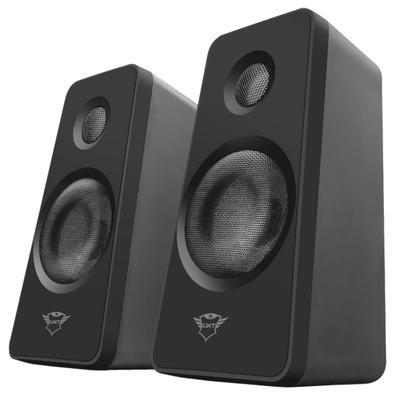 Caixa de Som Trust GXT 629 Tytan, RGB, Speaker 2.1, 120W, Preto - 22944