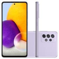 Smartphone Samsung Galaxy A72, 128GB, 6GB RAM, Octa-Core, Câmera Quádrupla, Violeta - SM-A725MLVRZTO