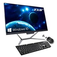 Computador All In One Hometech Intel Core i3-10100, 16GB, 240GB SSD, WiFi, 23.8´ FHD, Windows 10 Pro - HTA24G2-RFW