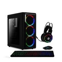 Computador  Gamer AMD 6-Core, CPU 3.8Ghz, 8GB,  Radeon R5 2GB, SSD 120GB, Kit Gamer Skill