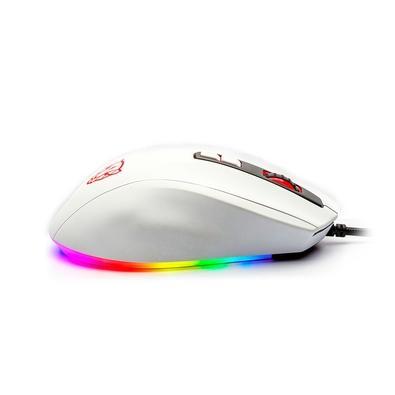Kit Gamer Motospeed 60% Branco RGB - Teclado Mecânico Sem Fio CK62, Switch Azul, ANSI + Mouse V60 10000DPI, USB 2.0  - FMSCB113BRO