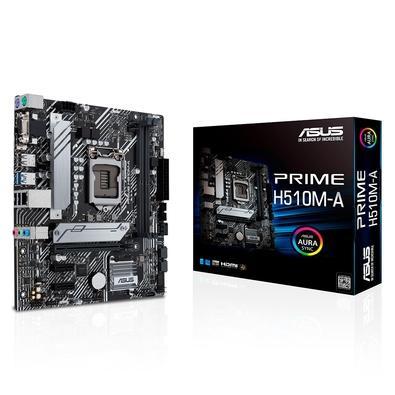 Placa Mãe Asus PRIME H510M-A, Intel Socket LGA1200, microATX, DDR4 - 90MB17C0-M0EAY0