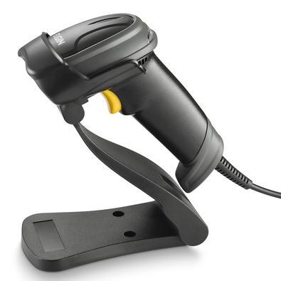 Leitor de Código de Barras Elgin El250 com Pedestal, USB, Tecnologia Area Imager, Preto - 46EL250US000