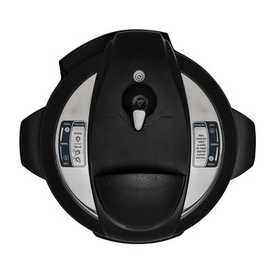 Panela de Pressão Elétrica Digital Midea Liva 6L, com Timer e Display Digital, Inox, 220V - PPA72