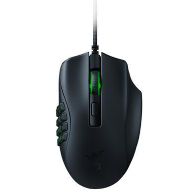 Mouse Gamer Razer Naga X, Chroma, 18000DPI, 16 Botões, Switch Optico, Design Ergonômico, Preto - RZ01-03590100-R3U1
