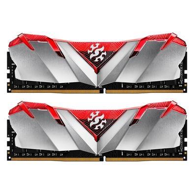 Memória XPG Gammix D30 16GB (2x 8GB), 3200MHz, DDR4, CL16, Vermelho - AX4U32008G16A-DR30