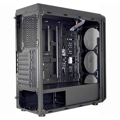 Microcomputador Gamer NTC Vulcano II 7155, Intel Pentium G6400, 4.0Ghz, 8GB RAM, SSD 240GB, Windows 10 Pro, Preto - Vulcano 7155