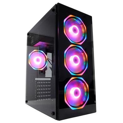 PC Gamer Concórdia Glass Intel Core i5-9400F, 8GB DDR4, SSD 240GB, HD 500GB, 1050 TI 4GB, Fonte 500W, Linux - 40550